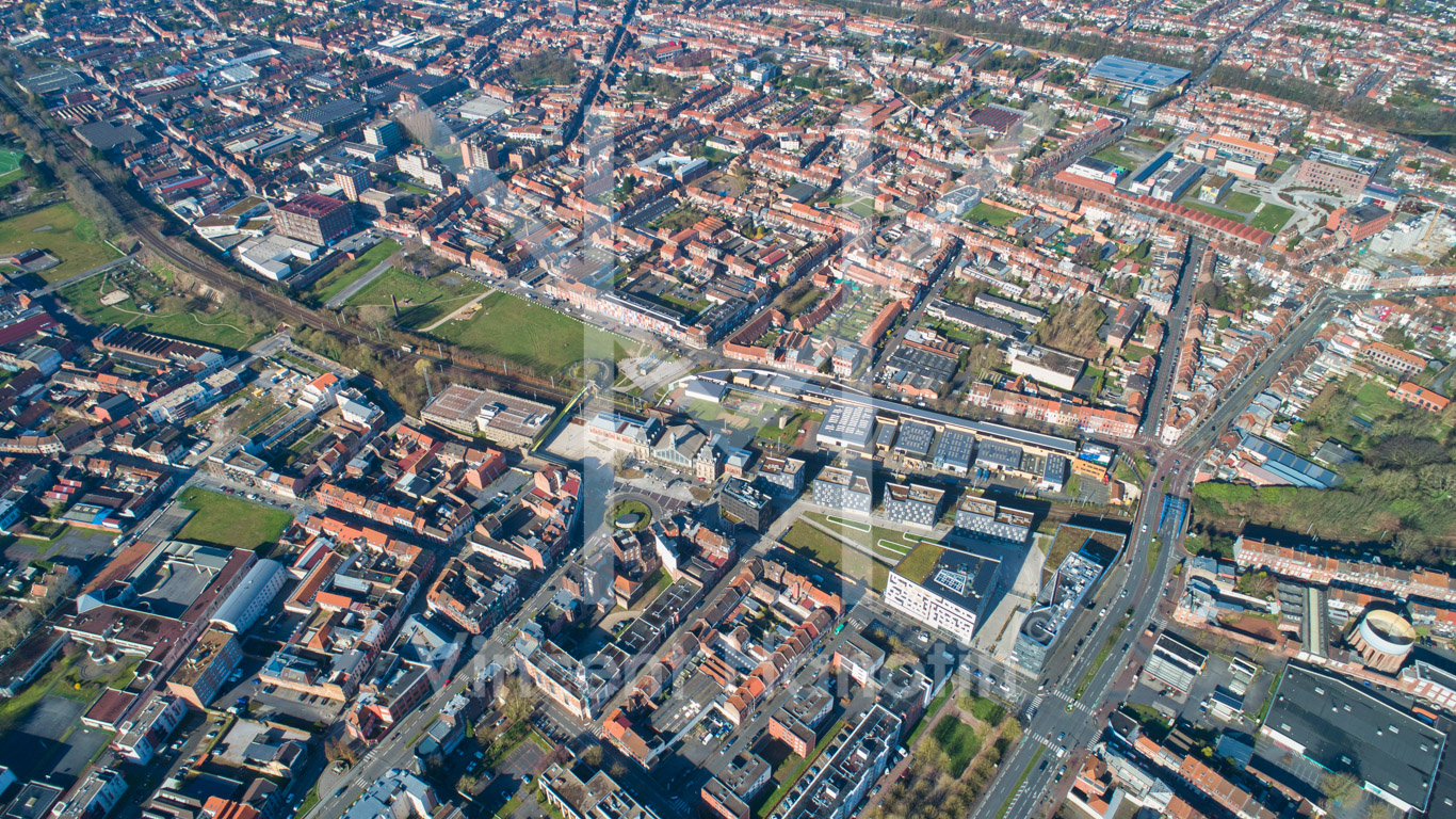 Campus Gare Roubaix (59) – Vol supérieur à 150 m